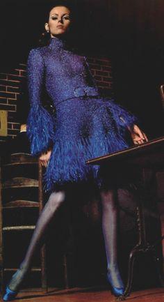 1967 Christian Dior #fashion #womenswear
