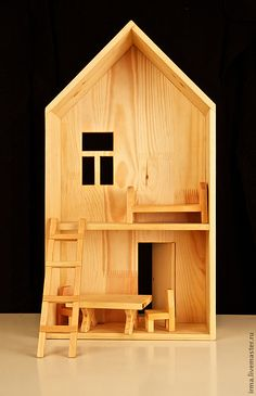 Кукольный домик - кукольный дом, кукольный домик, деревянная игрушка, деревянные игрушки