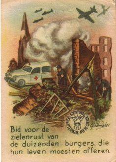 Cultureel Brabant CuBra Feest van vroeger tweede wereldoorlog gedachtenisprentjes grebbeberg