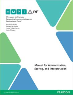 Minnesota Multiphasic Personality Inventory-Adolescent Restructured Form™ (MMPI-A-RF™)
