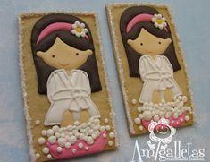 Spa Cookies by Amigalletas on Etsy