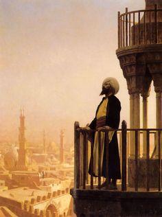 Jean Léon Gérôme (1824-1904) - Le Muezzin