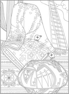Welcome to Dover Publications - CH Native American Designs Pattern Coloring Pages, Free Adult Coloring Pages, Horse Coloring Pages, Free Coloring, Coloring Book Pages, Coloring Sheets, Thanksgiving Classroom Activities, Creative Haven Coloring Books, Native American Design