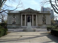 Rodin Museum in Philadelphia, Pennsylvania, United States - Katina Skilling Rodin Museum, Art Museum, Sculpture Museum, Rodin Drawing, Gazebo, Pergola, Renoir Paintings, Philadelphia Museums, Philadelphia History