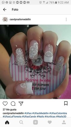 Pin by Daitho Haro on uñas in 2019 Easter Nails, Manicure And Pedicure, Nail Colors, Nail Designs, Nail Art, Beauty, Modern Nails, Nail Stickers, Nail Jewels