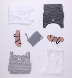 Product Styling | clean #bytheseatropical #balithisweek #travelshopa #stripes #ootd #nauticalstyle