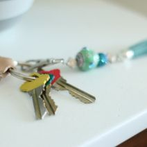 DIY Monogrammed Leather Keychain - DIY Playbook