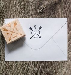 This listing is for a 1.5 x 1.5 laser engraved customized stamp. Each stamp is mounted onto a recycled maple wood block Perfect for stamping: Maple Wood, Wedding Invitations, Wood Blocks, Wooden Rings, Wedding Gifts