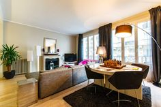 Stylish and spacious 2-bedroom rental apartment on Rue Raynouard in the 16th arrondissement of Paris. https://www.glamourapartments.com/paris/family-lux