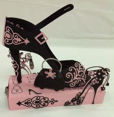 Girly girl shoes and purses