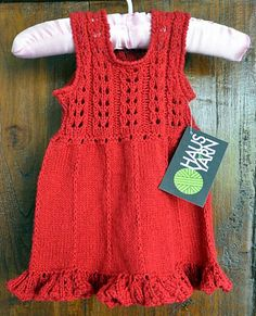 Ravelry: Project Gallery for Soleil Pinafore pattern by Onanoko