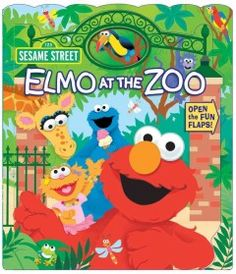 June 30 & July 1, 2015. Explore the zoo with Elmo while learning abaout animals he finds along the way. As each page is opened, a smaller page is revealed in this unique book.