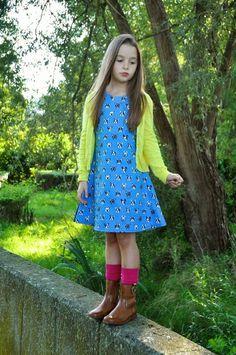 de 8-jarige tiener in een nieuwe jurk (via Bloglovin.com )