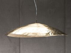 Brass pendant lamp BRASS 95 by Gervasoni - I'm liking this light over the dining table potentially