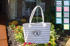 Bride's Tote Bag in 9 Colors by kutekiddo on Etsy