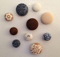 Handmade fridge magnets for my niece Laurence