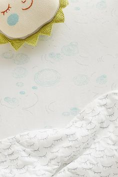 Little Lashes Crib Sheet - anthropologie.com Liapela.com