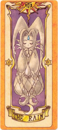 Clow Cards (Cardcaptor Sakura) - Rain Card