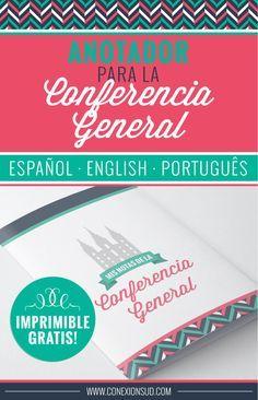 Anotador de la Conferencia General | Conexion SUD