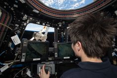 workstations on the space station - Google Search