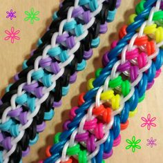 "Made with the Monster Tail Loom. New ""Spring Fever"" Bracelet/How To Tutorial"