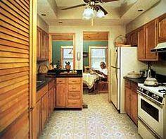 Ah! E se falando em madeira...: Tutorial sobre cozinha