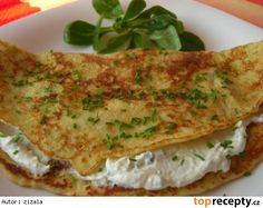 Irena Hufová: Bramborové palačinky Quiche, Toast, Brunch, Menu, Snacks, Chicken, Breakfast, Ethnic Recipes, Mille Crepe