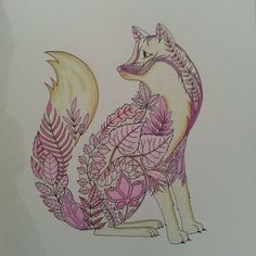 Johanna Basford | Picture by Kirsty | Colouring Gallery