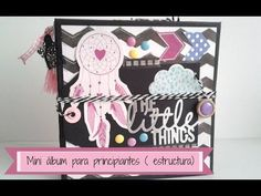 TUTORIAL MINI ALBUM PRINCIPIANTES (ESTRUCTURA) - YouTube