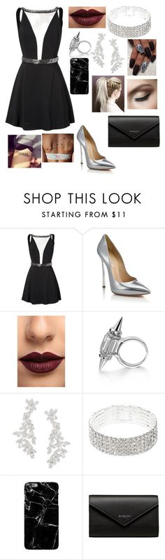 """""""Untitled #152"""" by hanna-vbee on Polyvore featuring Casadei, LASplash, Kate Spade and Balenciaga"""