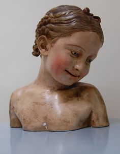 Antique Child Mannequin Bust