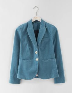 Elizabeth Cord Blazer WE544 Clothing at Boden