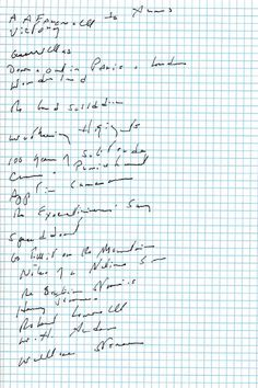 Joan Didion's Favorite Books of All Time, in a Handwritten Reading List | Brain Pickings