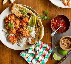 Try this slow cooker butter chicken curry and make a sure-fire family favourite. It has a creamy, lightly spiced tomato sauce, and juicy chunks of chicken Bbc Good Food Recipes, Healthy Chicken Recipes, Healthy Dinner Recipes, Indian Food Recipes, Cooking Recipes, Ethnic Recipes, Healthy Takeaway, Yummy Food, Healthy Dinners