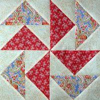Free Quilt Block Patterns: Flying Dutchman Quilt Block Pattern