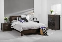 Amart Furniture offers stylish and affordable bedroom suites and packages. Discover the huge range in store or online today! French Style Sofa, Bedroom Sets, My Dream, Ottoman, Chair, Modern, Range, Inspiration, Furniture