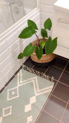 Fibre, Decoration, Motifs, Rose, Bath Mat, Garden, Plants, Home Decor, Style