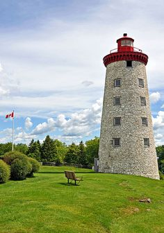 Windmill turned Lighthouse - Prescott, Ontario