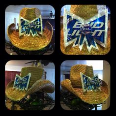 I want to make one of these for Stagecoach!! But I want mine to b coors light!!!