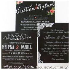 AboutLove - Convite de Casamento Paixão