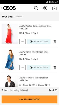 ASOS- screenshot