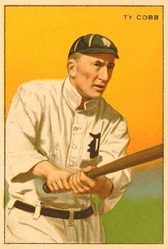 Ty Cobb - The greatest hitter that ever played the game!