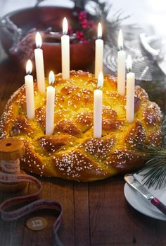 Braided Swedish Saffron Bread Recipe