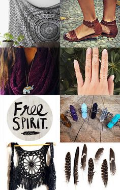 Embrace Your Boho Love! by Danielle Dailey on Etsy--Pinned with TreasuryPin.com #boho #bohemian #etsy #love #earth #peace #feathers #free