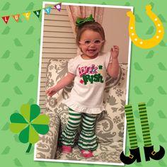 Mommy's little leprechaun