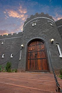 I am actually going to be staying in this castle next week. Amazing. Mt Tambourine :D