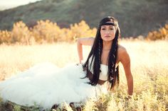 Beautiful! Pocahontas bride. Nice work, @Lindsey Christensen