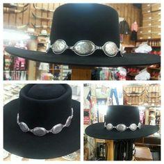 4222e1f0db3a7 Gambler with concho hat band. Txhattier · Cowboy Hats · A Resistol nutria  felt hat 5