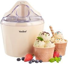 Check This Out! VonShef Vanilla Ice Cream Maker #OnSale #Discount #Shopping #AddMe #FollowMe #BestPins