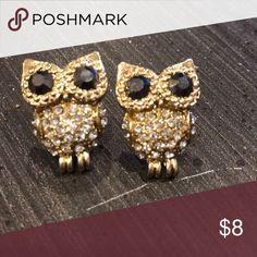 Owl Earrings!!!😍 Like new! Accessories